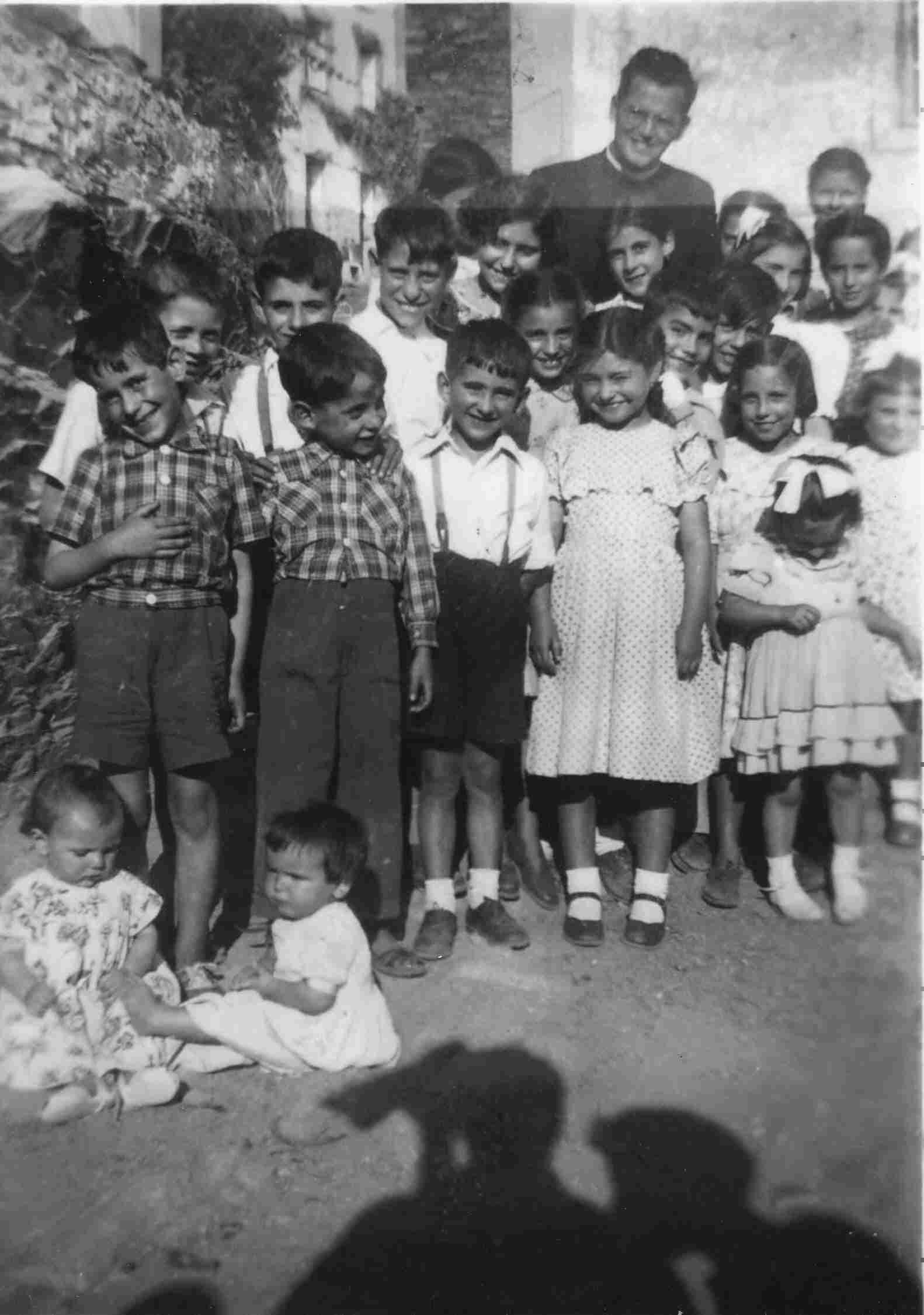 Padre José Redondo em 1955