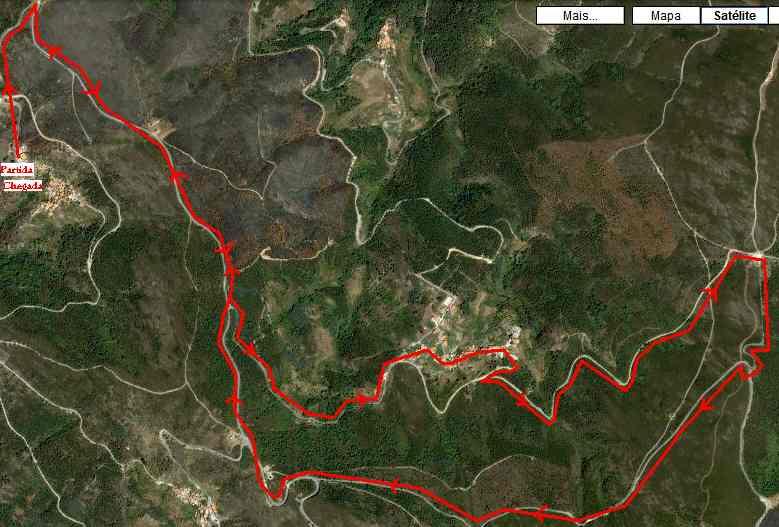 VII Percurso Monte Frio e Moura da Serra