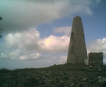 Pico de São Pedro do Açor visto de oeste para este na Segunda-feira, 22 de Maio de 2006