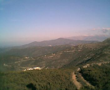 Monte do Colcurinho a partir do pico da Picota na Terça-feira, 13 de Dezembro de 2005