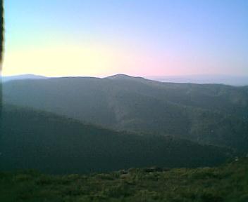 Monte da Deguimbra a partir do pico da Picota na Terça-feira, 13 de Dezembro de 2005