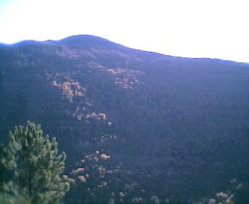 Monte da Picota a partir da Malhada visto de norte para sul no Sábado, 10 de Dezembro de 2005