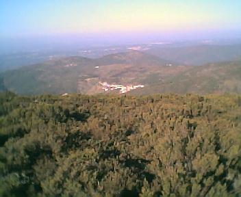 Monte Frio a partir do pico da Picota na Terça-feira, 13 de Dezembro de 2005