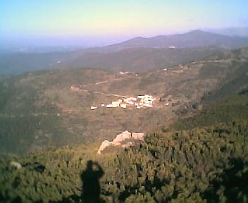 Relva Velha a partir do pico da Picota na Terça-feira, 13 de Dezembro de 2005