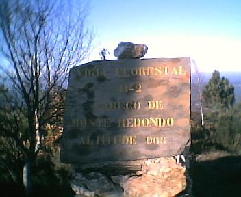 Placa na Deguimbra, na Segunda-feira, 12 de Dezembro de 2005