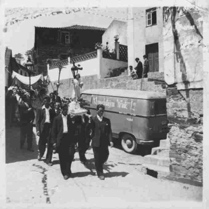 Procissão no Monte Frio na Quarta-feira, 6 de Agosto de 1958