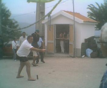Chinquilho e quermesse no Domingo, 12 de Agosto de 2007