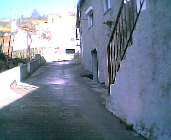 Rua da subida da Capela no Sábado, 1 de Janeiro de 2005