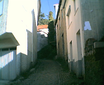 Rua da subida do Santo no Sábado, 1 de Janeiro de 2005