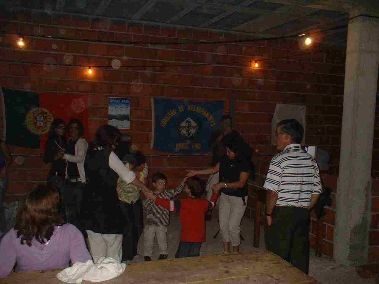 Salão Social no Domingo, 10 de Agosto de 2008