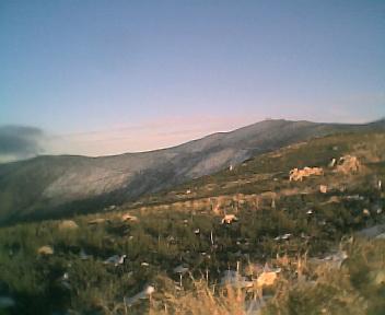 Alto de São Pedro do Açor, na Segunda-feira, 11 de Dezembro de 2006
