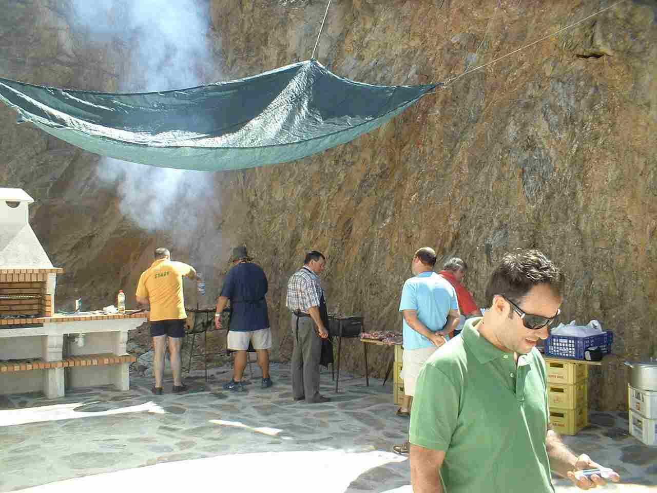 Terraço do Salão Social no Sábado, 9 de Agosto de 2008