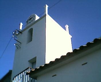 Torre da capela no Sábado, 1 de Janeiro de 2005
